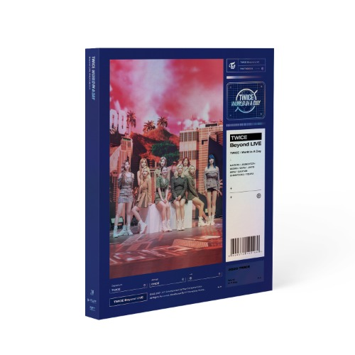 트와이스 (TWICE) - BEYOND LIVE / TWICE : WORLD IN A DAY PHOTOBOOK