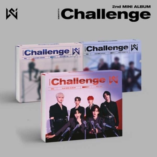 (세트)위아이 (WEi) - IDENTITY : Challenge (ALL / NOTHING / CHALLENGE ver. = 3종 세트)